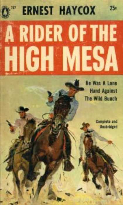 Popular Library - Riders of the High Mesa