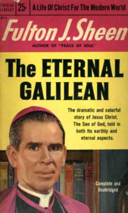 Popular Library - The Eternal Galilean - Fulton J Sheen