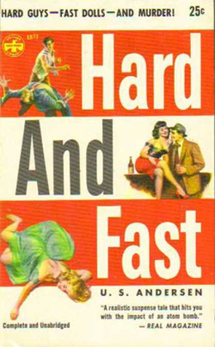 Popular Library - Hard and Fast - U. S. Andersen