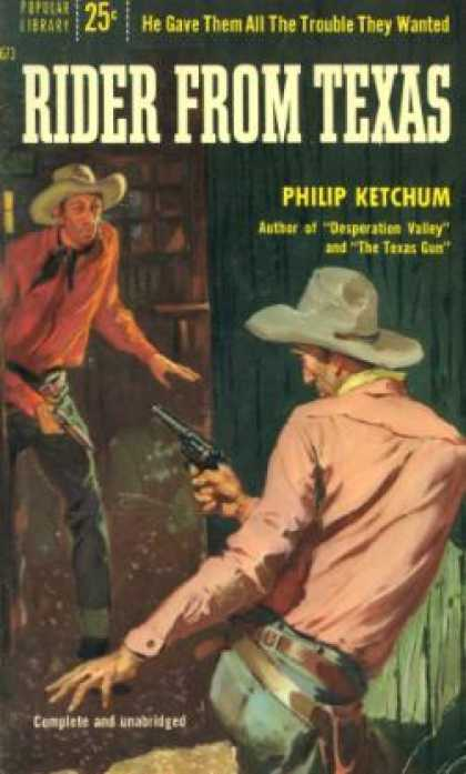 Popular Library - Rider From Texas - Philip Ketchum