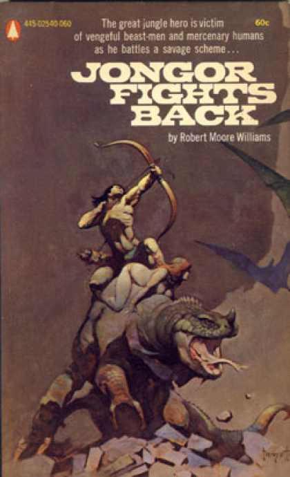 Popular Library - Jongor Fights Back - Robert Moore Williams
