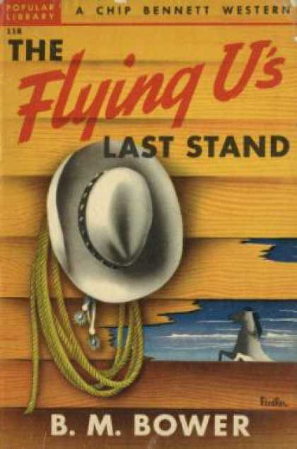 Popular Library - The Flying U's Last Stand - B. M. Bower