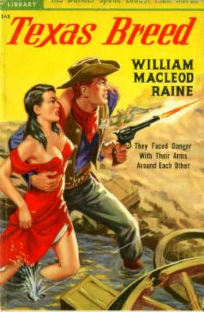 Popular Library - Texas Breed - William Macleod Raine