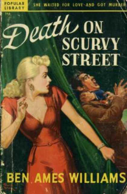 Popular Library - Death On Scurvy Street - Ben Ames Williams