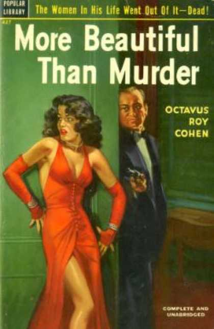 Popular Library - More Beautiful Than Murder - Octavus Roy Cohen