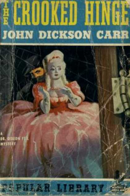 Popular Library - The Crooked Hinge - John Dickson Carr