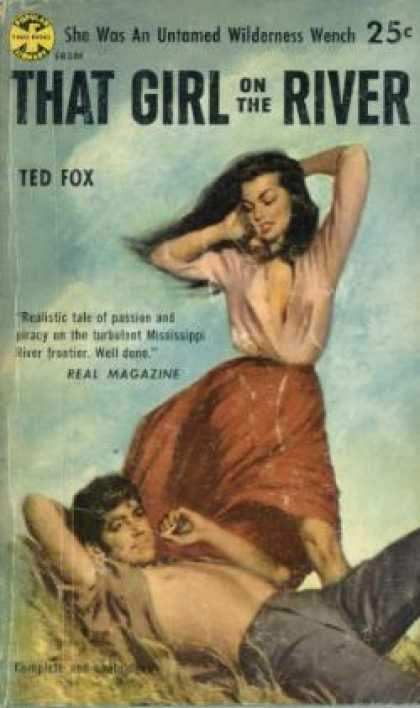 Popular Library - That Girl On the River - Ted Fox