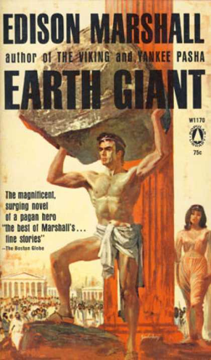 Popular Library - Earth Giant - Edison Marshall