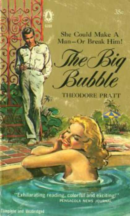 Popular Library - The Big Bubble - Theodore Pratt