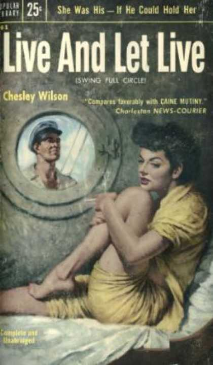 Popular Library - Live and Let Live - Chesley Wilson