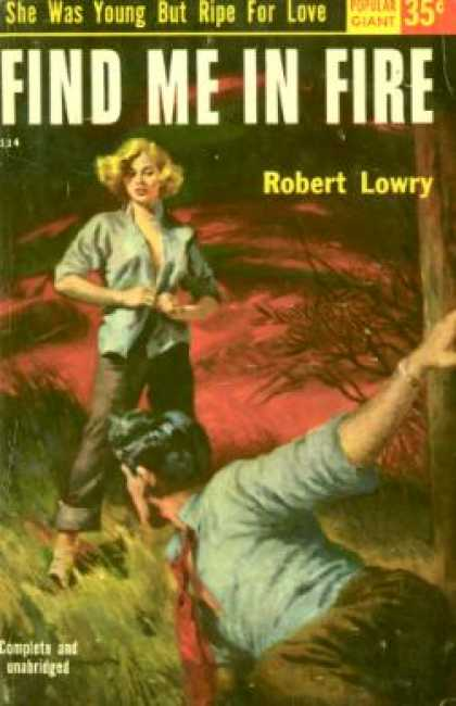 Popular Library - Find me in fire - Robert Lowry