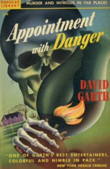 Popular Library - Appointment With Danger - David Garth