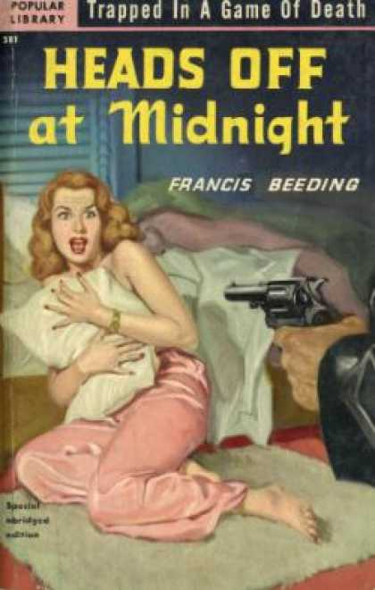 Popular Library - Heads Off at Midnight - Francis Beeding
