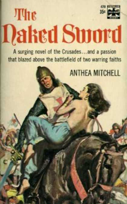 Popular Library - The Naked Sword - Anthea Mitchell