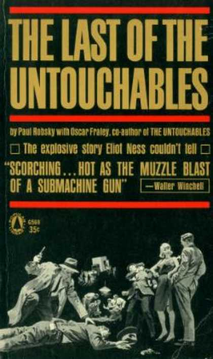 Popular Library - The Last of the Untouchables - Paul Robsky