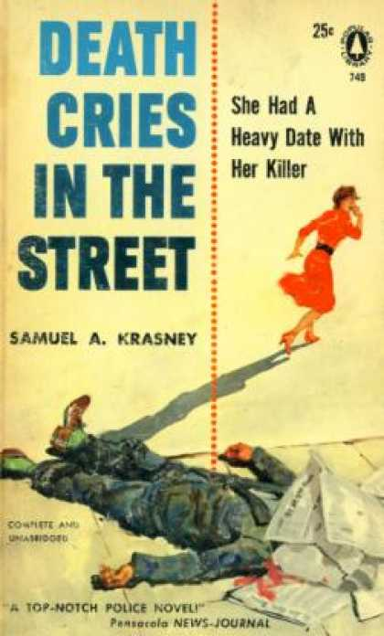 Popular Library - Death Cries In the Street - Samuel A. Krasney