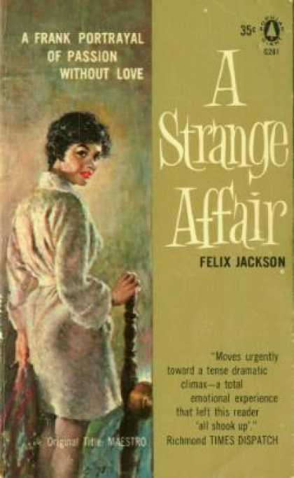 Popular Library - A Strange Affair - Felix Jackson