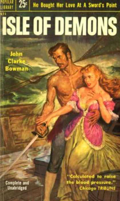 Popular Library - Isle of Demons: A Rousing Historical Novel - John Clarke Bowman