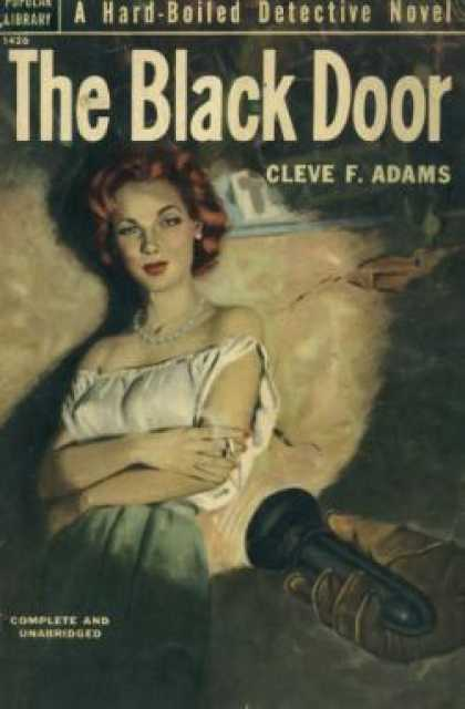 Popular Library - The Black Door - Cleve F. Adams