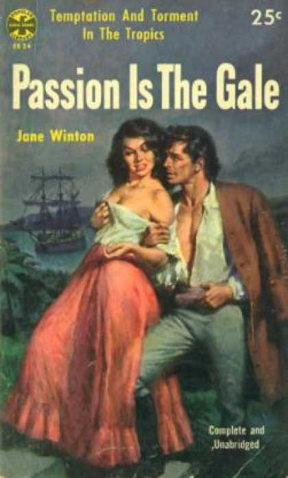 Popular Library - Passion Is the Gale: Temptation and Torment In the Tropics