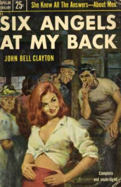 Popular Library - Six Angels at My Back - John Bell Clayton