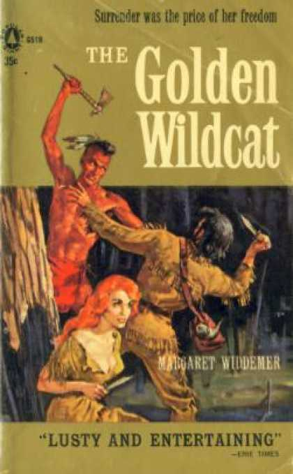 Popular Library - The Golden Wildcat - Margaret Widdemer