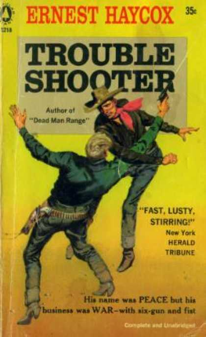 Popular Library - Trouble Shooter - Ernest Haycox