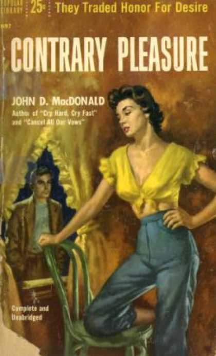 Popular Library - Contrary Pleasure - John D. Macdonald