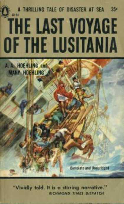 Popular Library - The Last Voyage of the Lusitania - A. A. and Mary Hoehling Hoehling