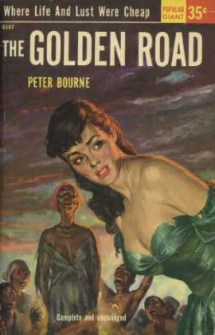 Popular Library - The Golden Road - Peter Bourne