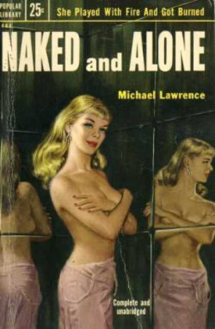Popular Library - Naked and Alone - Michael Lawrence