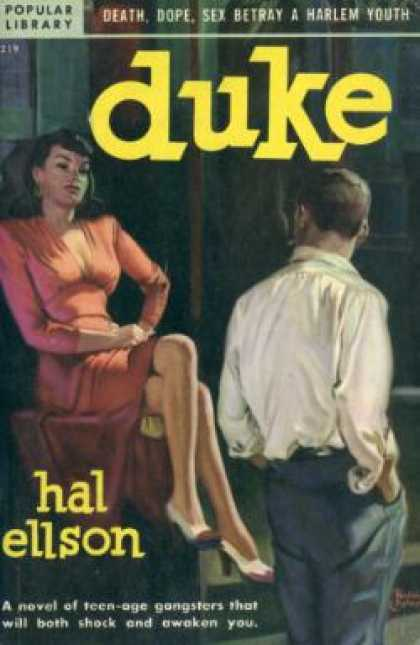 Popular Library - Duke - Hal Ellson