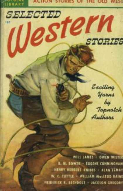 Popular Library - Selected Western Stories - Various