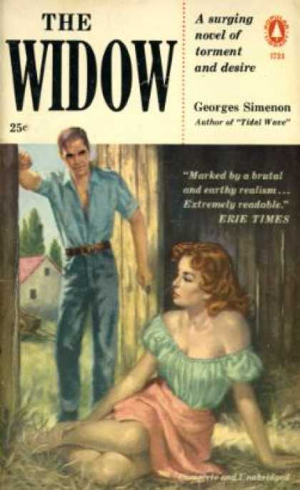 Popular Library - The Widow - John Simenon Georges; Translated By: Petrie