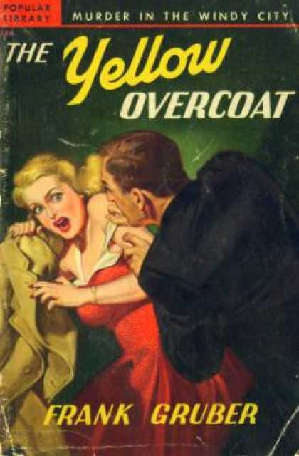 Popular Library - The Yellow Overcoat - Frank Gruber
