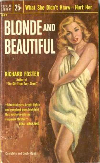 Popular Library - Blonde and Beautiful - Richard Foster