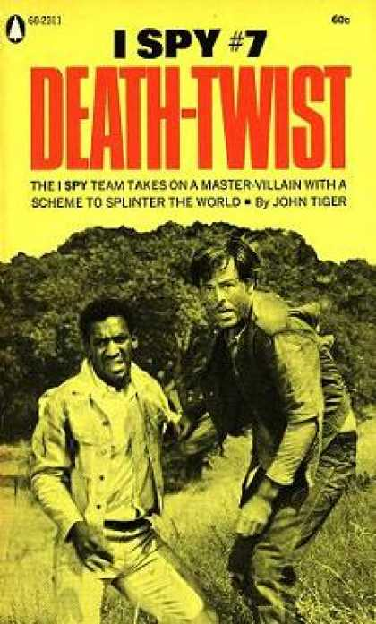 Popular Library - I Spy #7: Death-twist - John Tiger