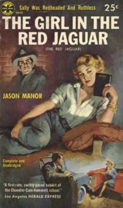Popular Library - The Girl In the Red Jaguar - Jason Manor