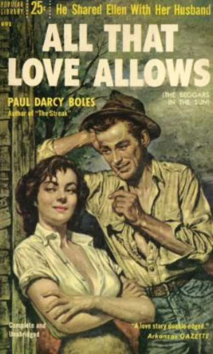 Popular Library - All That Love Allows - Paul Darcy Boles