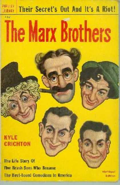 Popular Library - The Marx Brothers - Kyle Crichton