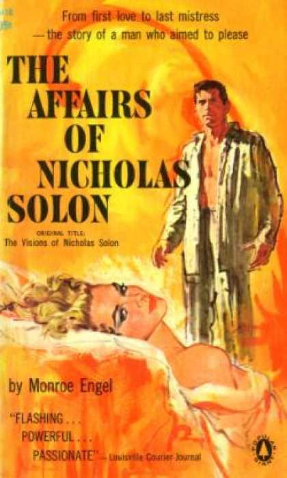 Popular Library - The affairs of Nicholas Solon - Monroe Engel