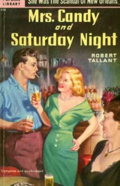 Popular Library - Mrs. Candy and Saturday Night - Robert Tallant