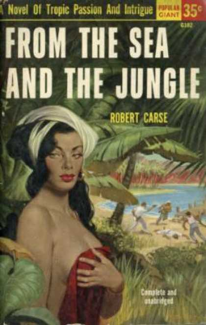 Popular Library - From the Sea and the Jungle - Robert Carse