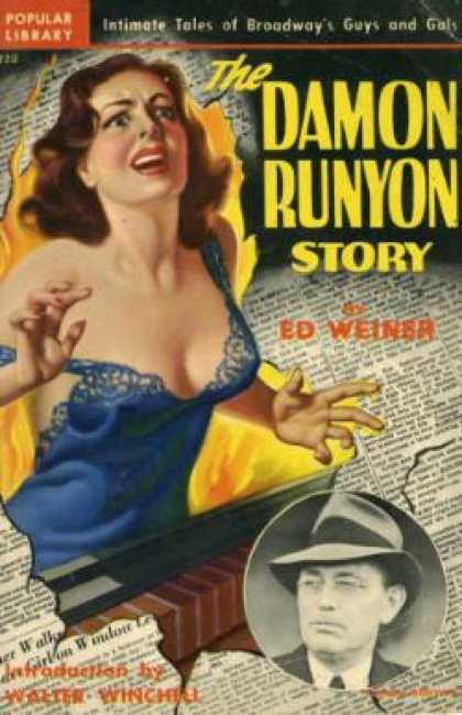 Popular Library - The Damon Runyon Story - Ed Weiner