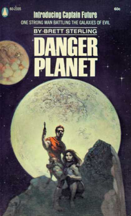 Popular Library - Danger Planet - Brett Sterling