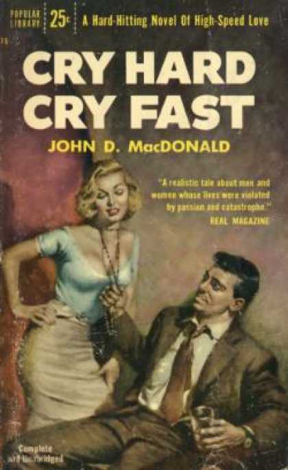 Popular Library - Cry Hard Cry Fast - John D. Macdonald