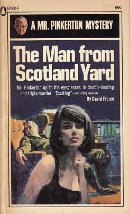 Popular Library - The Man From Scotland Yard