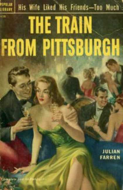 Popular Library - The Train From Pittsburgh