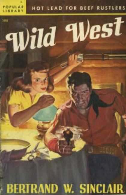 Popular Library - Wild West - Bertrand W. Sinclair
