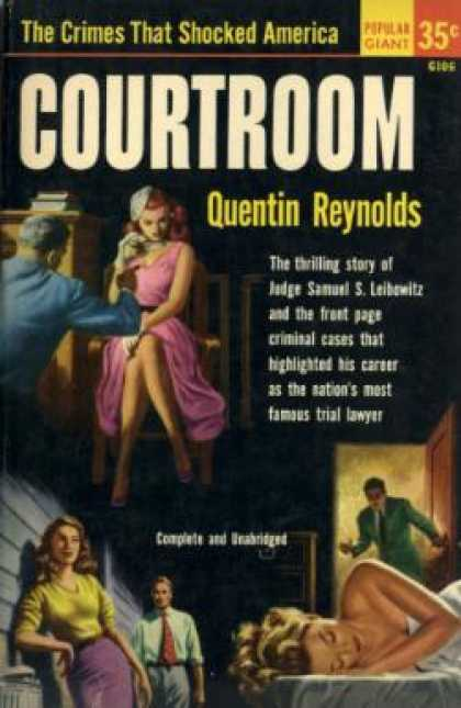 Popular Library - Courtroom - Quentin Reynolds